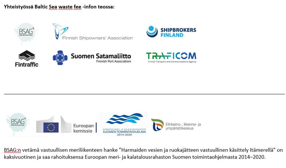 Itämeri-info yhteistyötahot